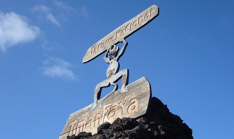 entrée parc national timanfaya