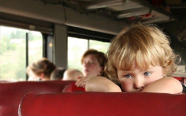 occuper les enfants en bus ou en train