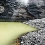 lago verde à lanzarote