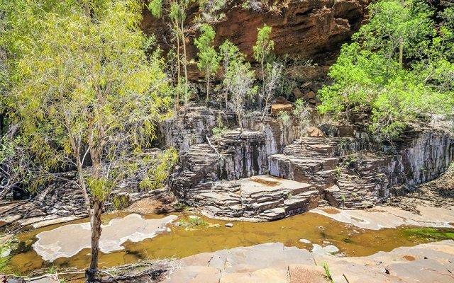 Les gorges du Karijini National Park en Australie