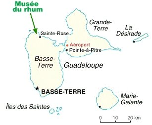 musée rhum guadeloupe