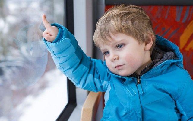 voyager en train avec des enfants