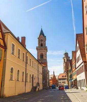route romantique de l'Allemagne
