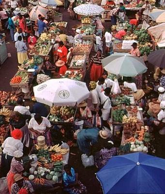 place de marché de St George
