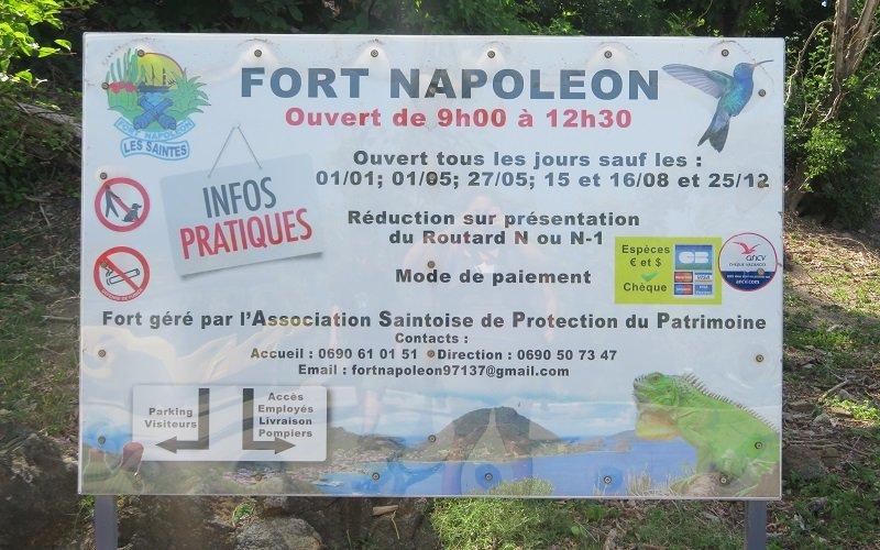visiter fort napoleon aux saintes