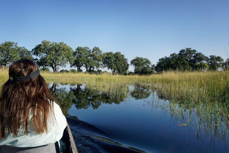 mokoro delta de l'okavango