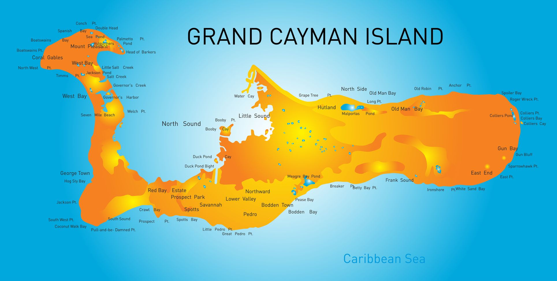 carte de grand cayman