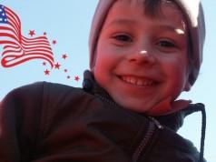 enfants heureux en Amérique