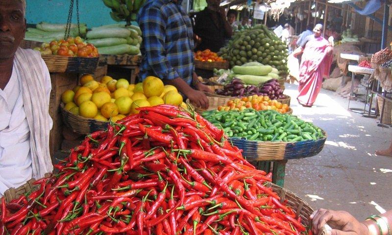 Krishna Rajendra marché