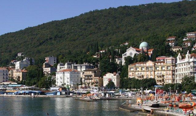 La Belle Opatija En Croatie