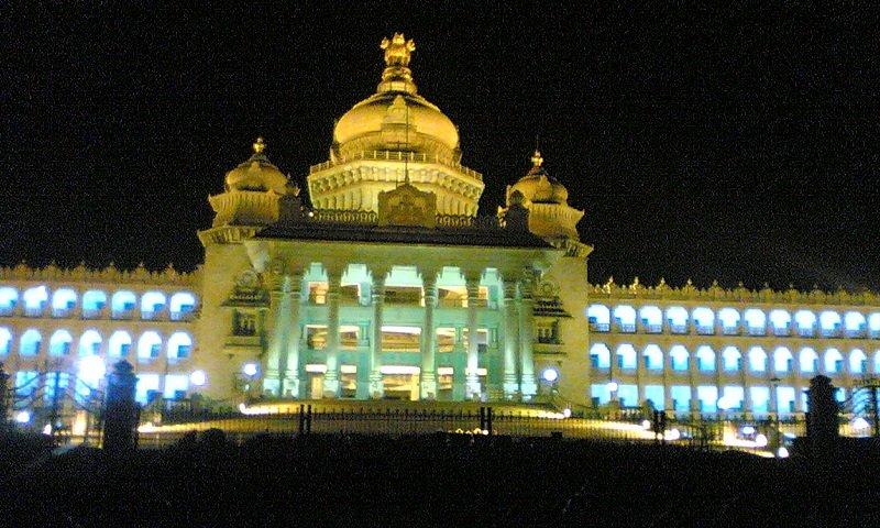 Vidhana Soudha nuit