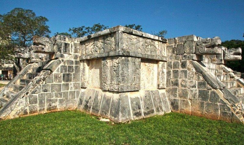 temple jaguars et aigles chichen itza