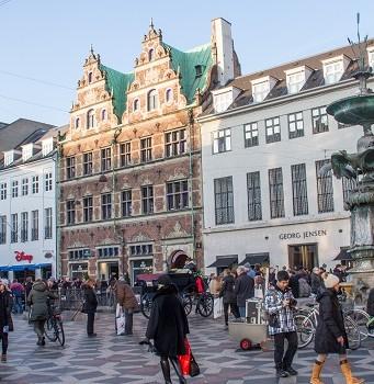 Stroget au Danemark