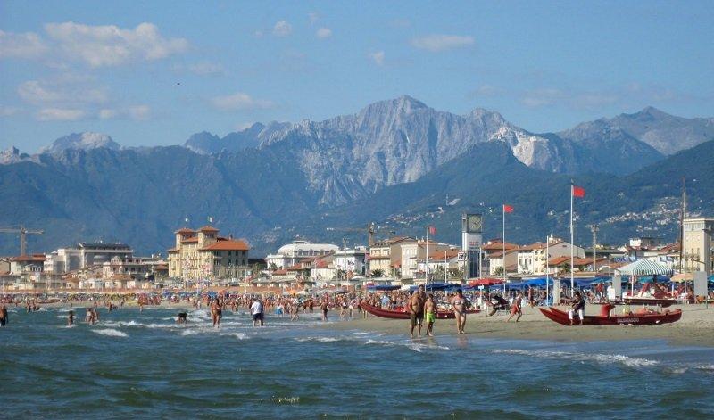 Viareggio plage