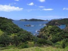 baie des îles en Nouvelle Zélande