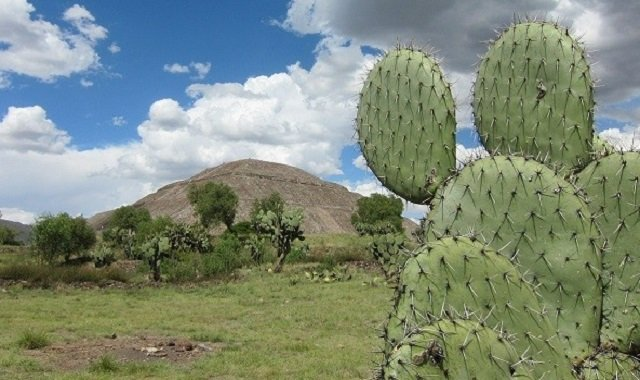 site archéologique Teotihuacan au Mexique