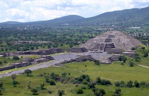 site archéologique mexique