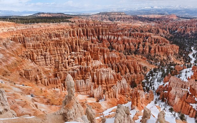 neige bryce canyon