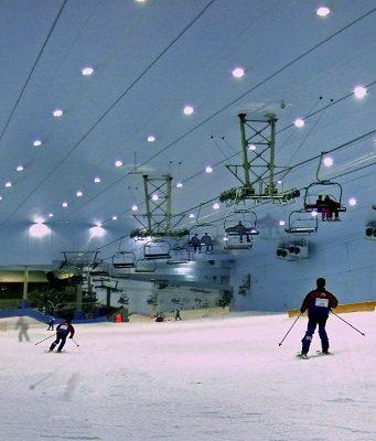 skier à dubai