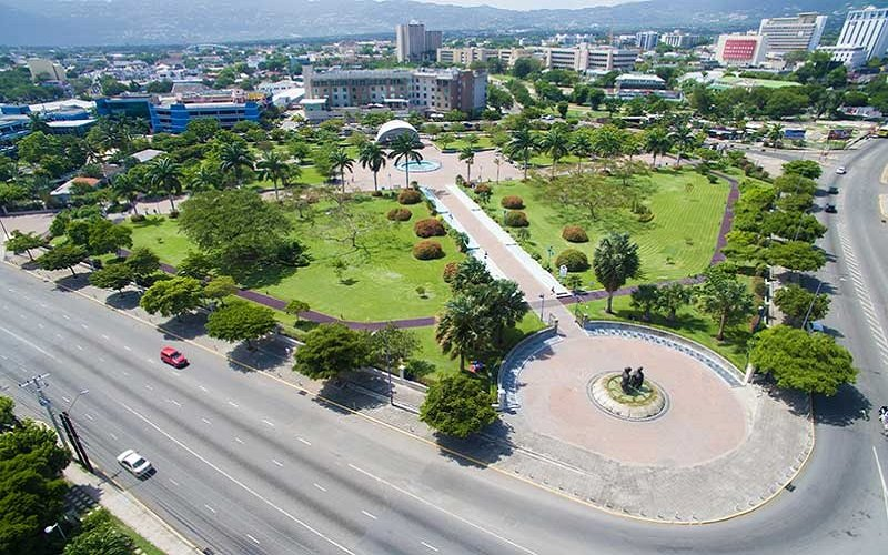 Emancipation Park à kingston en jamaique