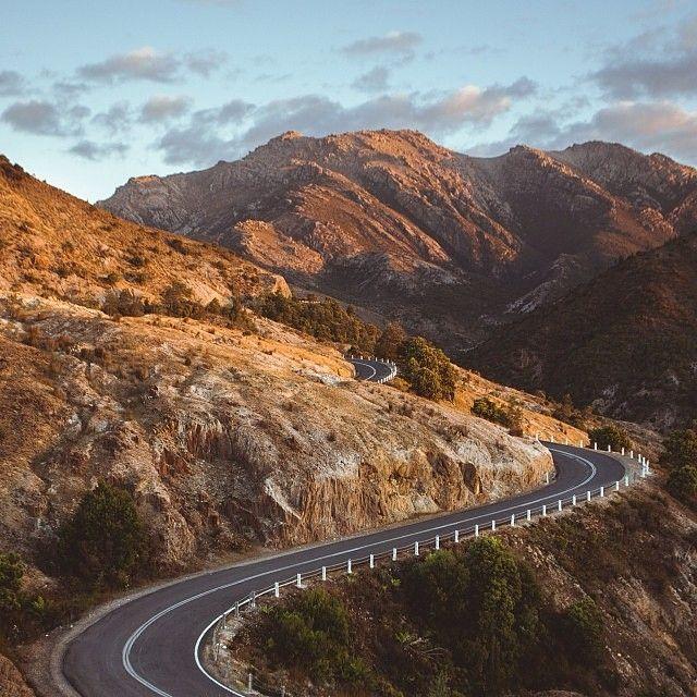 Lyell Highway tasmanie