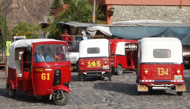 Panajachel tuktuk