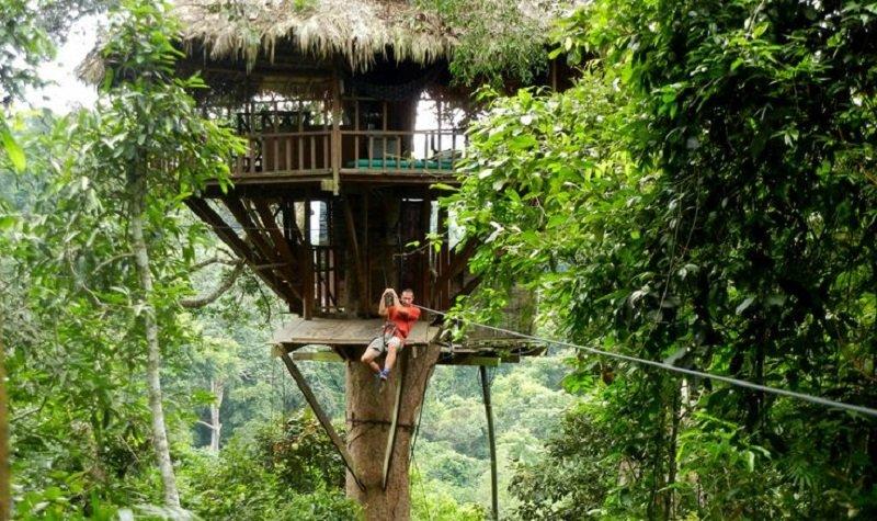 Réserve naturelle de Bokeo au laos