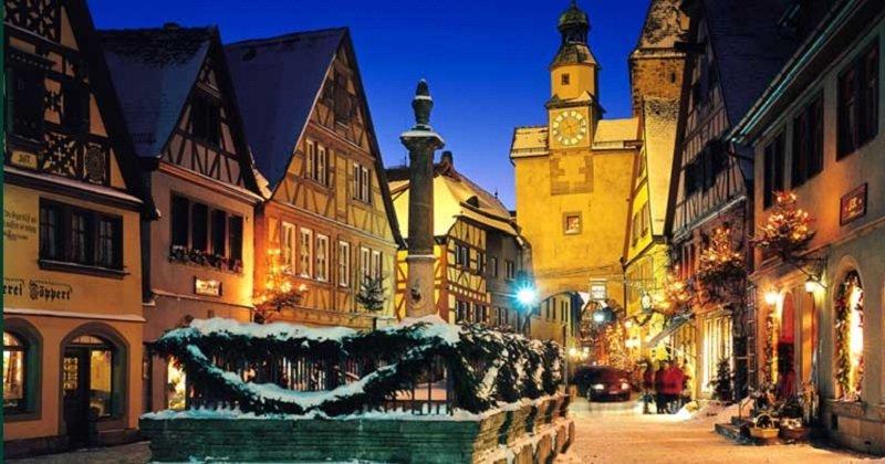 rothenburg de nuit