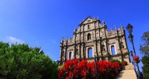 Ruines de st Paul