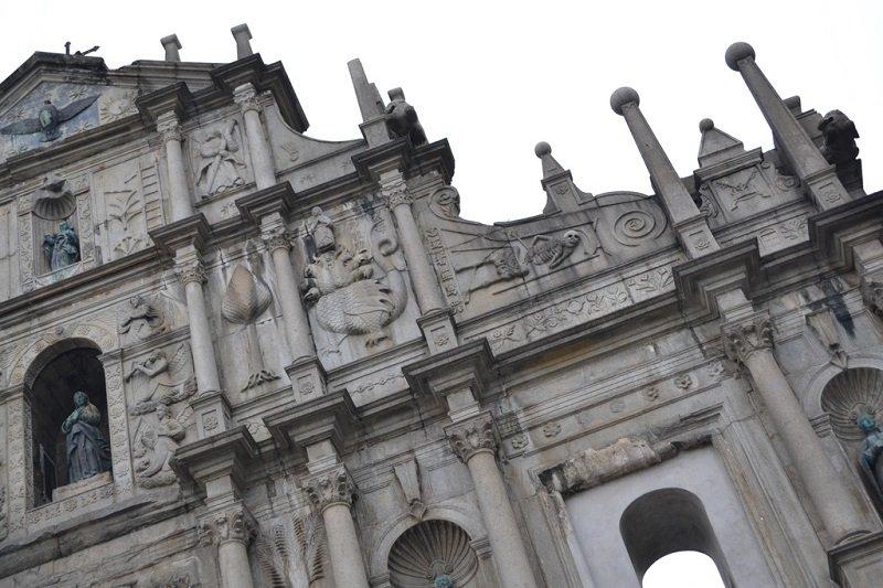 façade Ruines st Paul