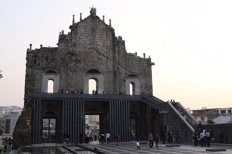 escalier Ruines de st Paul