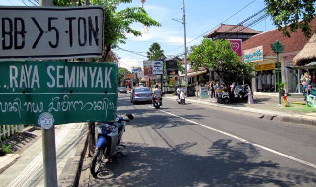 Seminyak à Bali
