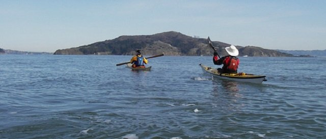 angel island kayak