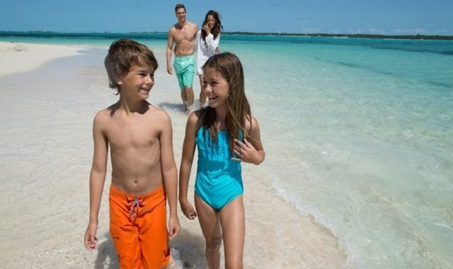 bahamas en famille