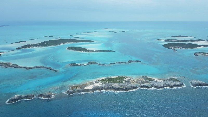 bahamas vue du ciel