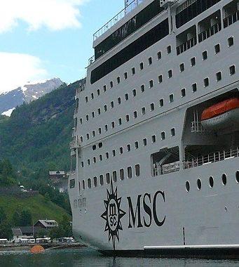bateau croisière msc