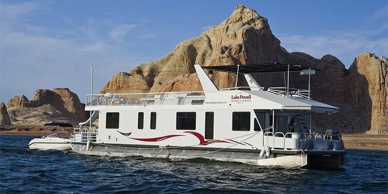 bateau lac powell