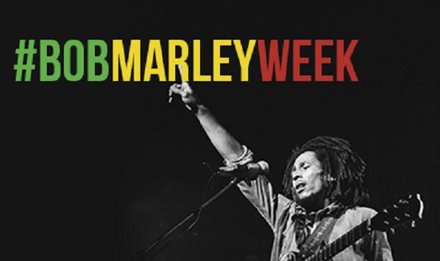 bob marley week