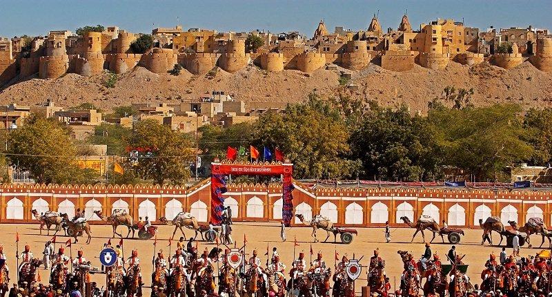 festival désert jaisalmer