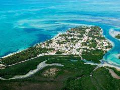 L'île d'Andros aux Bahamas