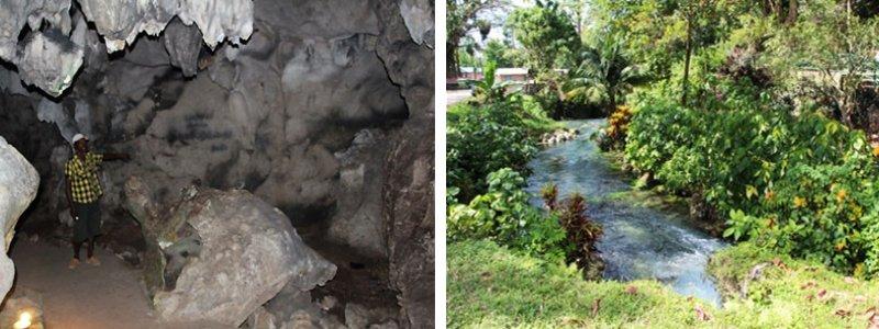 parc roaring river jamaique