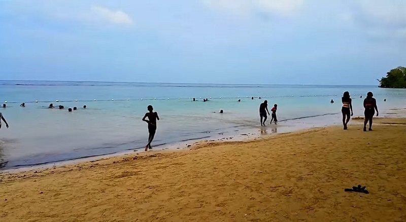 plage parc de la dunn jamaique