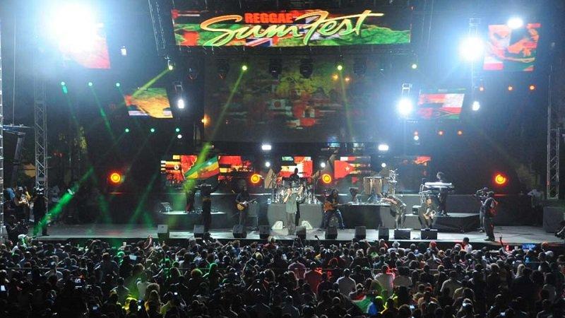 reggae sumfest jamaique
