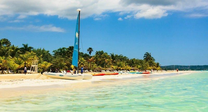 plage de seven mile beach