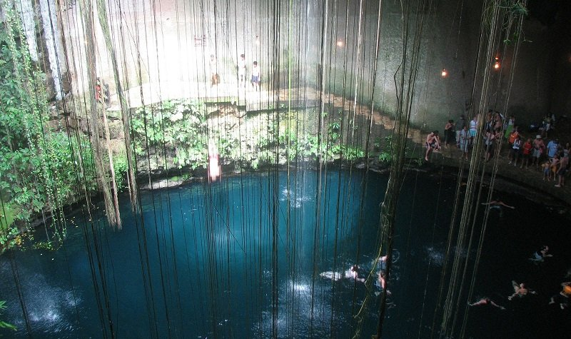 cenote au mexique