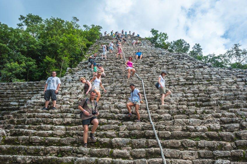Les ruines de Cobá au mexique