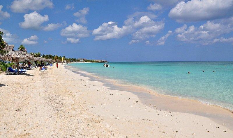plage cayo coco