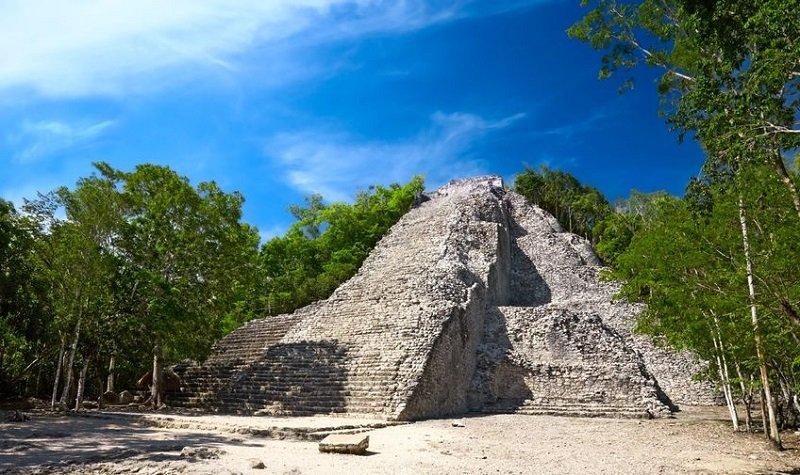 Les ruines de Cobá