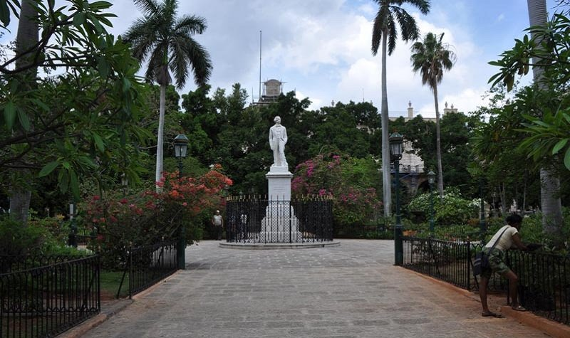 statue Carlos Manuel de Céspedes