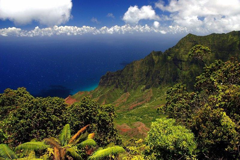 Kauai côte Na Pali